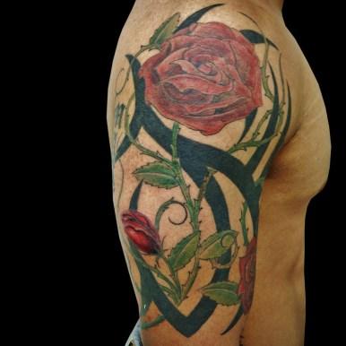 トライバル 薔薇 roses