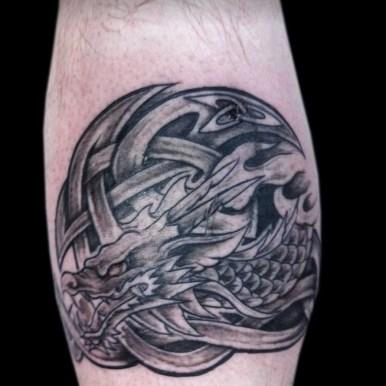 ケルト 龍 celtic dragon