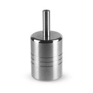 диаметр 35 мм. в комплекте толкатель. вес 250 грамм. диаметр проточки бэкстема 4 мм подходит для тату машинок сконструированных под картриджи.