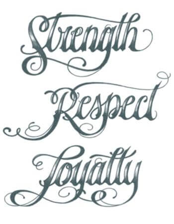 Top Of 24 Ideas For Loyalty Tattoo Meanings And Designs 2020 Pics