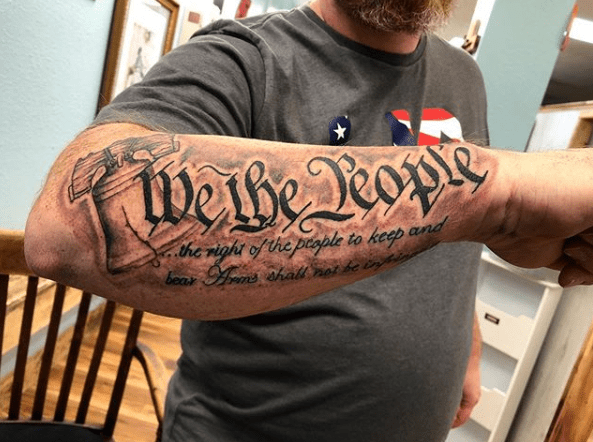 we the people tattoos