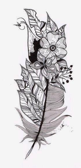 Joli motif tatouage