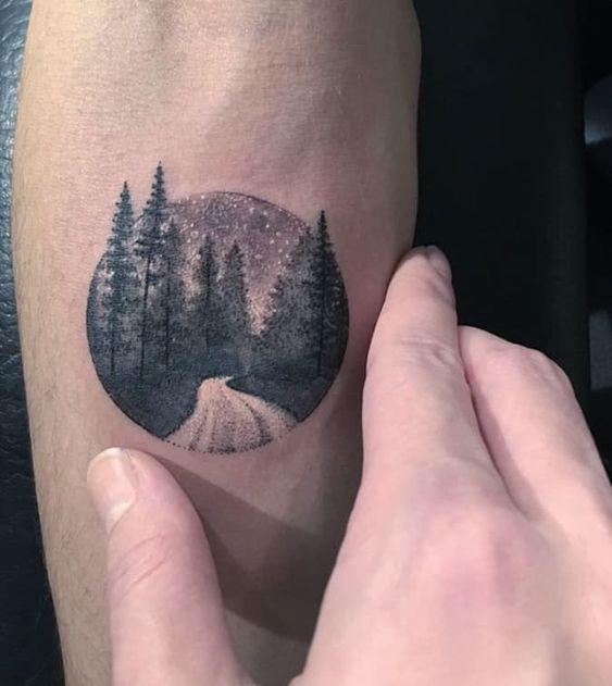 Belle nature tatouée