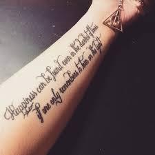 Un bon tatouage deux phrases