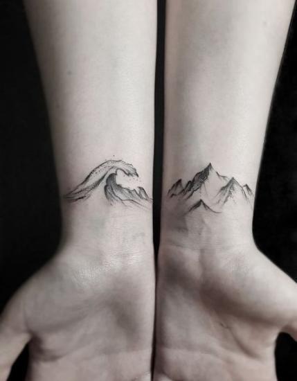 Merveilleux petit tatouage