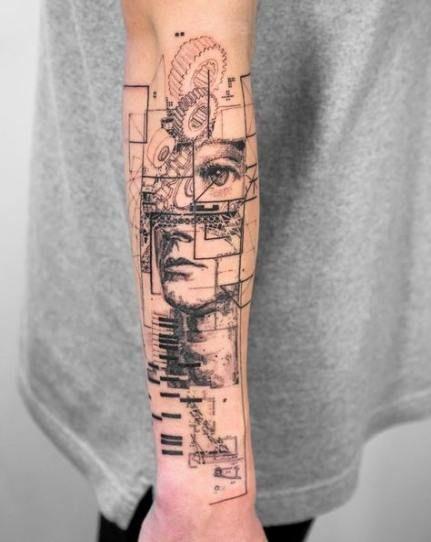 Très beau tattoo