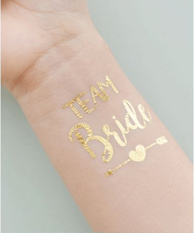 Team bride en Gold