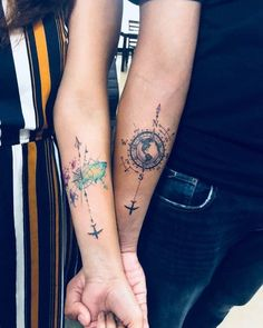 Tatouage Couple Idees Tatouages Amour Eternel Homme Et Femme