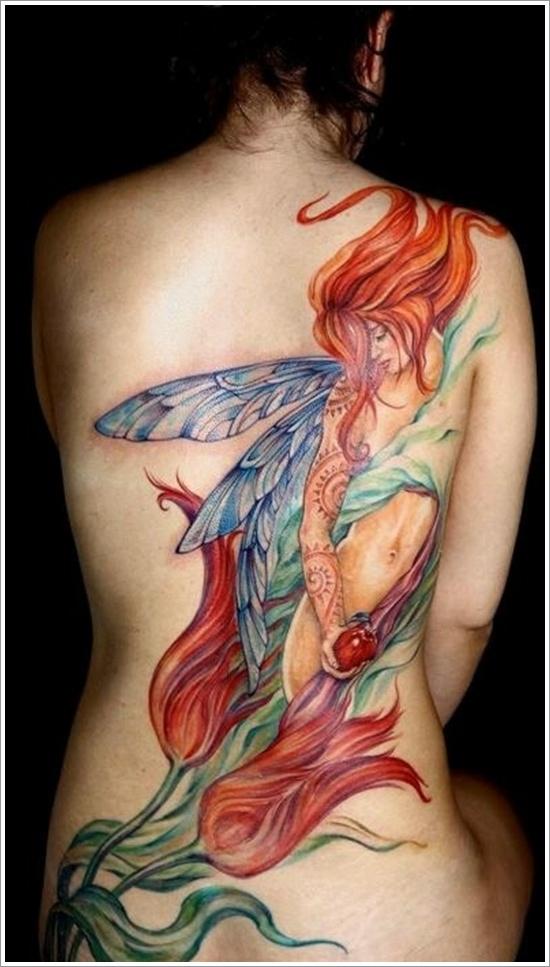 dessins de tatouage de fée (4)
