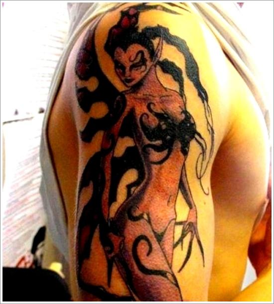 dessins de tatouage de fée (7)