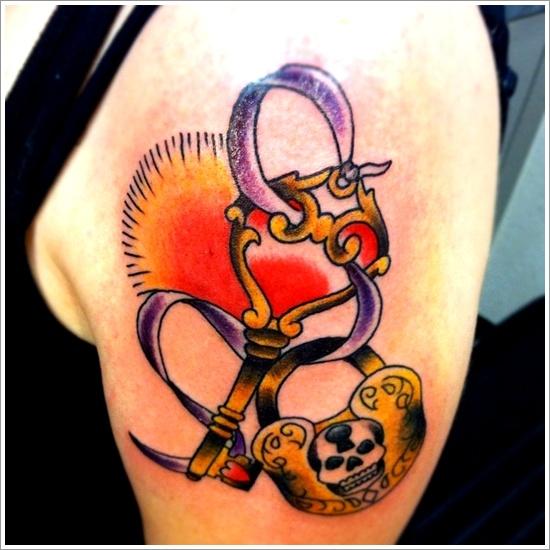 conception de tatouage de verrouillage (4)