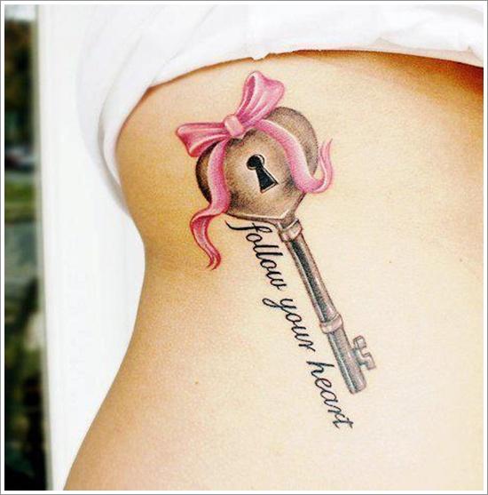 conception de tatouage de serrure (28)