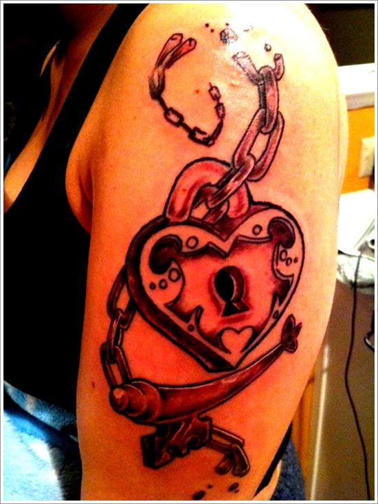 conception de tatouage de verrouillage (9)
