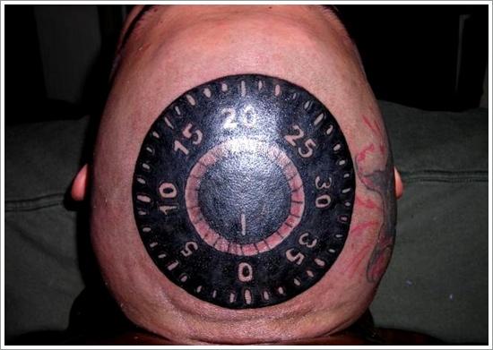 conception de tatouage de serrure (15)