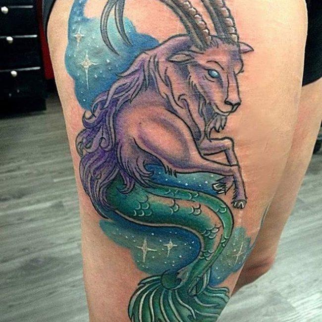 Tatouages Capricorne