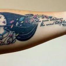 Signification de tatouage de Pocahontas 29