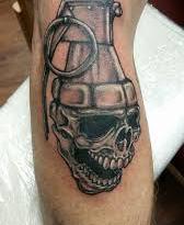 , Que signifie le tatouage de grenade?  (En images)