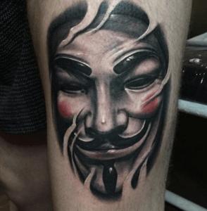 , Meilleur tatouage V pour Vendetta  (En images)