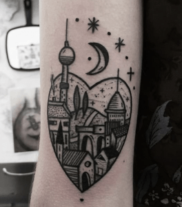 , Tatouage de Berlin: comment célébrer la ville  (En images)