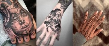 , 20 tatouages de squelette à la main [FOTO]  (En images)