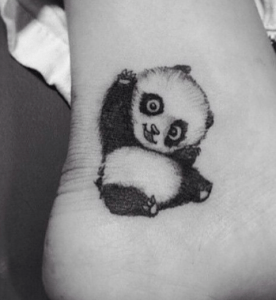tatouage de panda