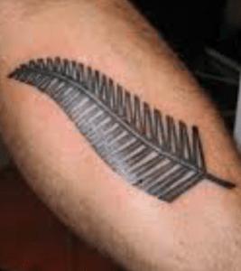 tatouage de fougère
