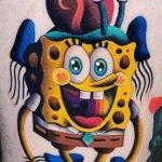 , 55 tatouages SpongeBob pour les fans de SpongeBob SquarePants  (En images)