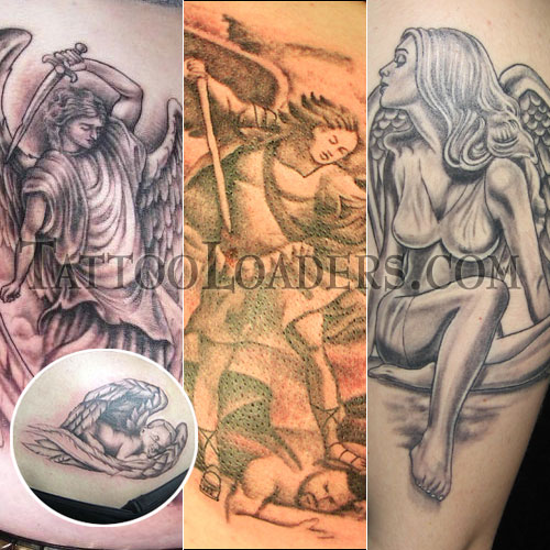 What is your definition of gurdian angel tattoos and how does your look.