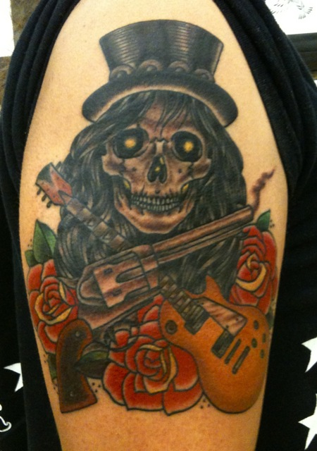 And Www Guns Roses Tattoos