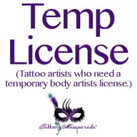Temporary Body Artist License