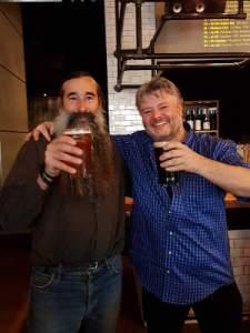 Bruno Blais et Jean-François Gaudreault, propriétaires du pub à bières l'Air du temps