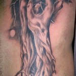 Fantasy Tree Tattoo On Ribs For Men Tattoos Book 65 000 Tattoos Designs