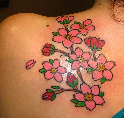 Cherry Blossoms Tattoo Designs Tattoo Art Gallery Ideas And Designs