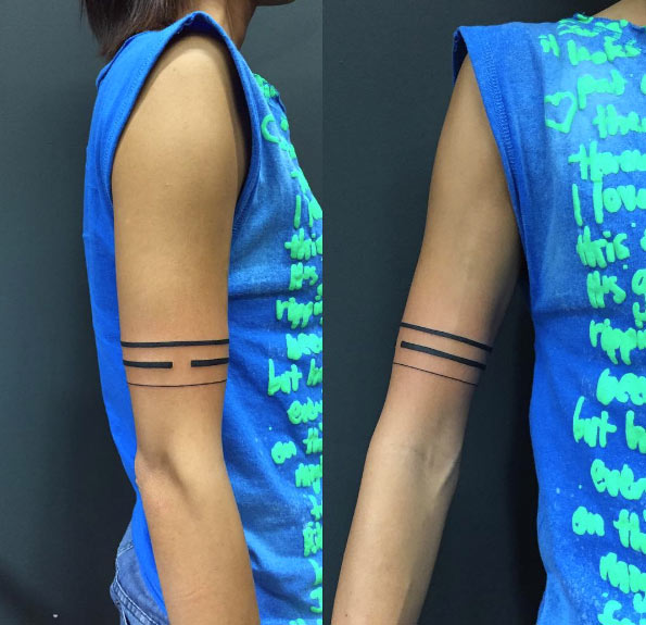 40 Stylish Armband Tattoos For Men Women Tattooblend Ideas And Designs