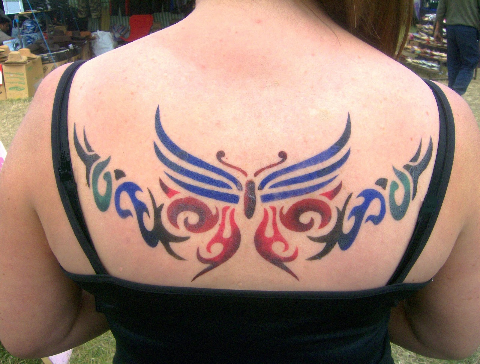Airbrush Tattoos As Marketing Tool Tattoo Expo Ideas And Designs
