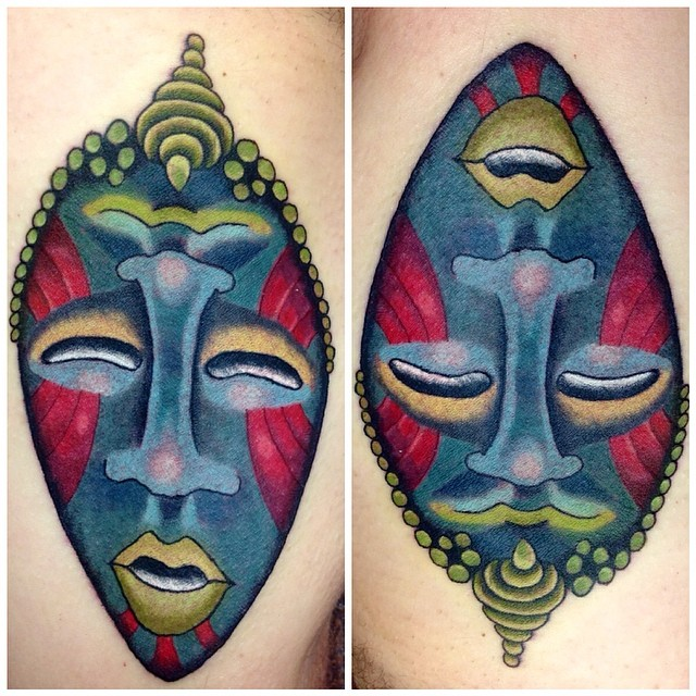 30 Traditional Tribal African Symbol Tattoos Designs Ideas And Designs