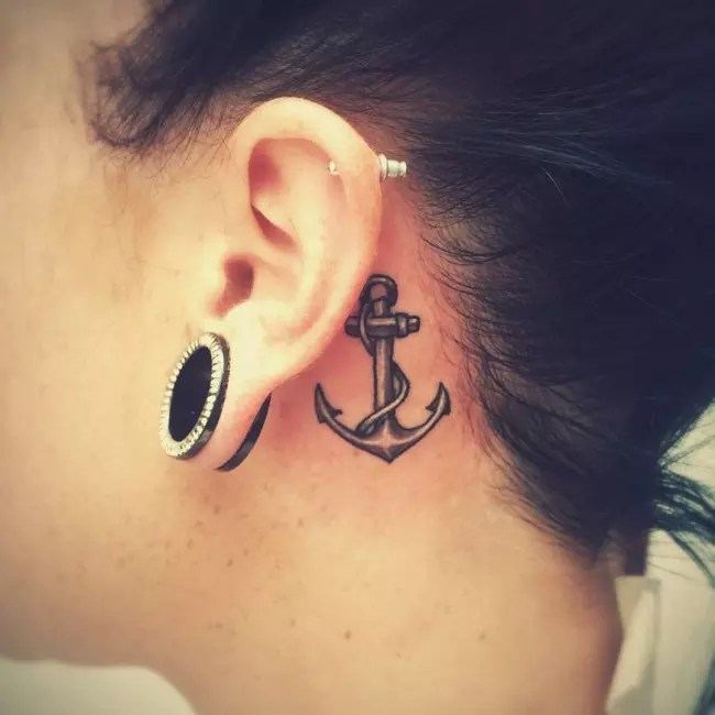 80 Best Behind The Ear Tattoo Designs Meanings Nice Ideas And Designs