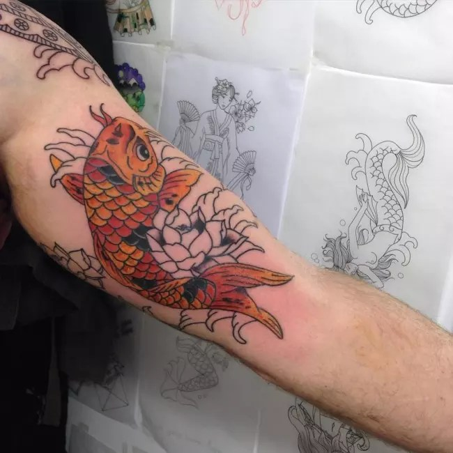 45 Spectacular Inner Bicep Tattoo Ideas For Men Ideas And Designs