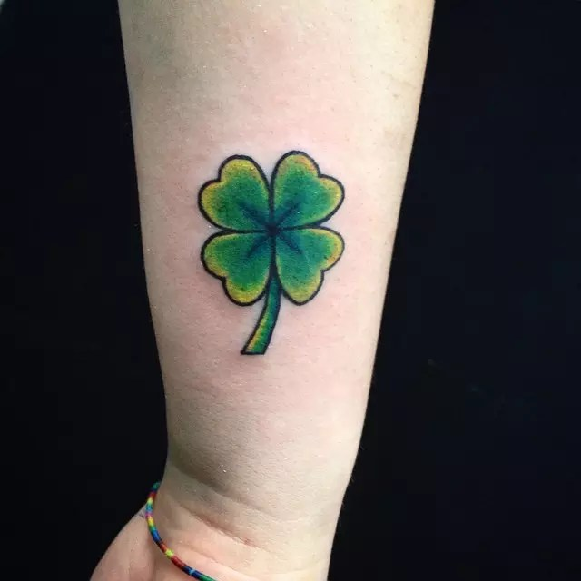 70 Best Four Leaf Clover Tattoo Ideas And Designs Lucky Ideas And Designs