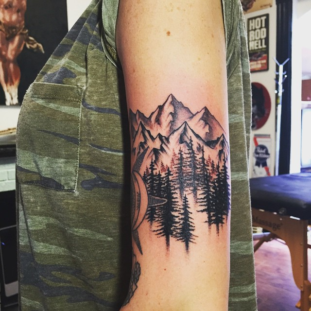 60 Fabulous Mountain Tattoo Designs For All Ages Ideas And Designs