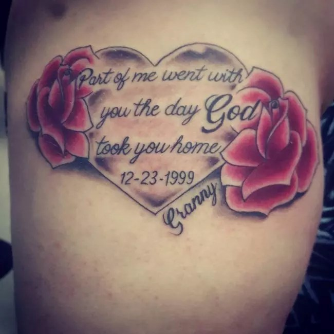 55 Inspiring In Memory Tattoo Ideas Keep Your Loved Ones Ideas And Designs