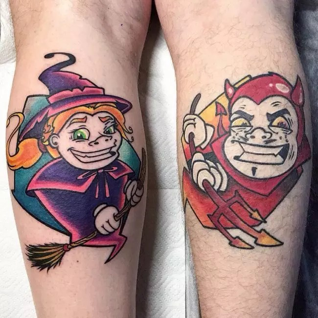 50 Iconic New School Tattoo Designs Meanings Main Ideas And Designs
