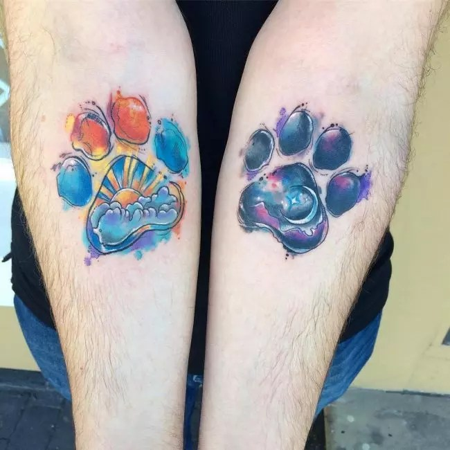 90 Best Paw Print Tattoo Meanings And Designs Nice Ideas And Designs