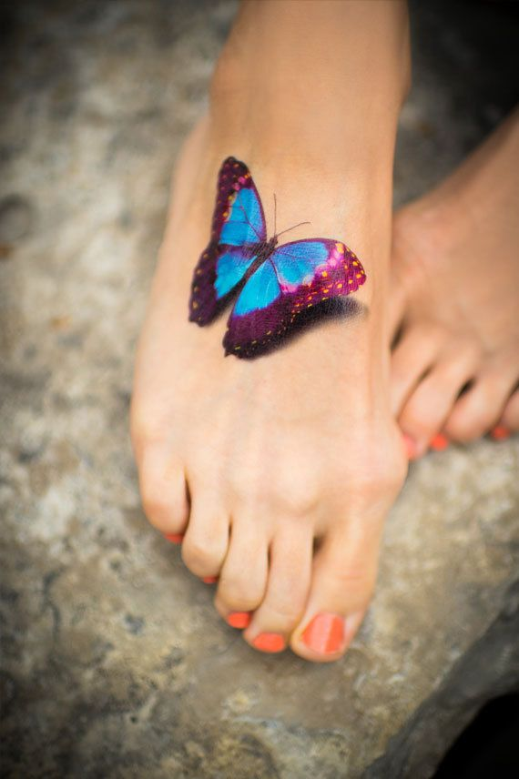 15 Latest 3D Butterfly Tattoo Designs You May Love Pretty Designs Ideas And Designs