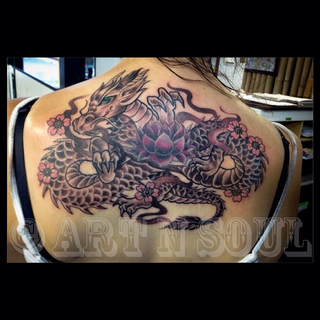 Renee Did This Cutsey Asian Dragon For Jess On The… Ideas And Designs