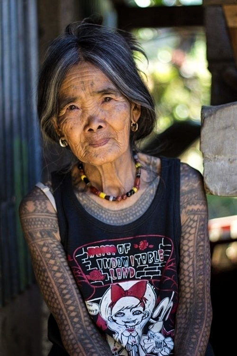 """Tattooed Seniors Answer The Question """"But What Will You Ideas And Designs"""