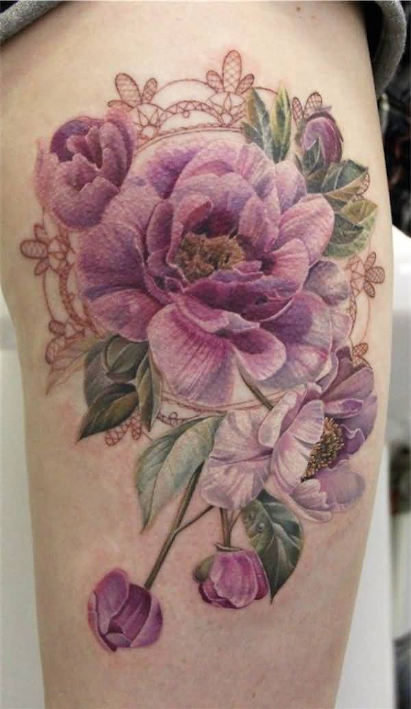 3D Flower Tattoo Ideas And 3D Flower Tattoo Designs Page 4 Ideas And Designs