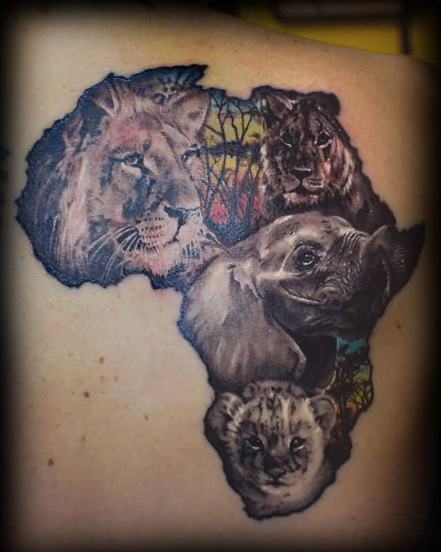 African Lion Tattoos Images Pictures Tattoos Hunter Ideas And Designs