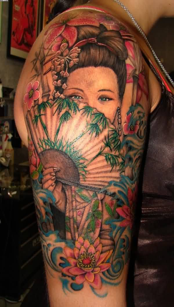 Asian Women Tattoos Images Pictures Tattoos Hunter Ideas And Designs
