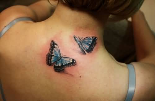 Butterfly Back Tattoo Ideas And Butterfly Back Tattoo Ideas And Designs